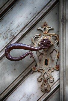 Handle, Fitting, Metal, Old, Input, Door, Door Handle