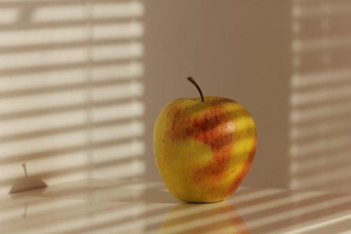 Apple, Shadow, Apples, Fruit