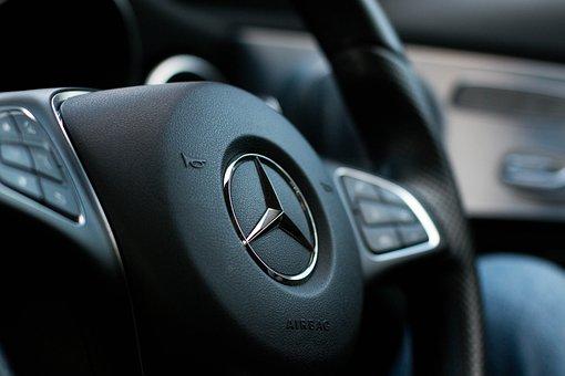Steering Wheel, Mercedes, Wheel, Auto, Automobile, Car