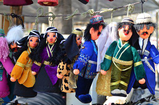 Dolls, Traditional, Market, Toy, Culture, Souvenir