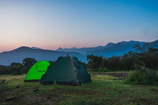 Camping, Tents, Tropical, Sri Lanka, Summer, Travel