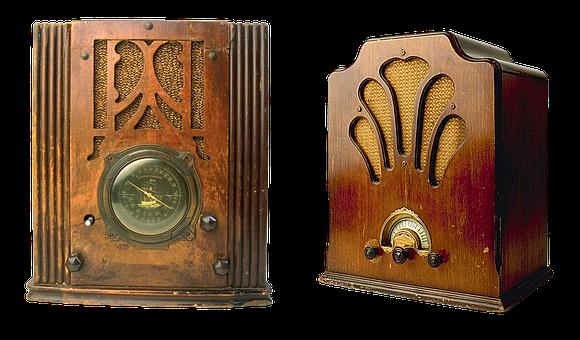 Old Radio, Radio, Vintage, Retro, Collectible, Old