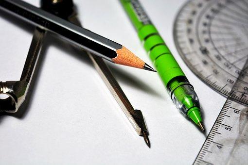 Mathematics, Wood Pencil, Wood, Education, Pencil