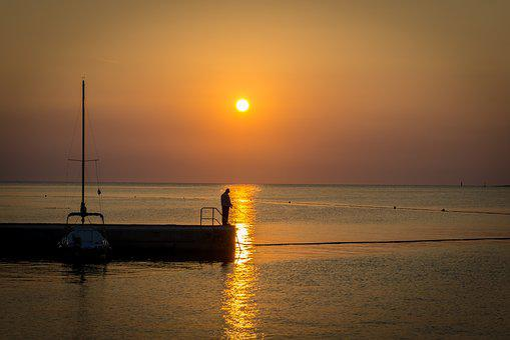 Holiday, Croatia, Sea, Summer, Water, Abendstimmung