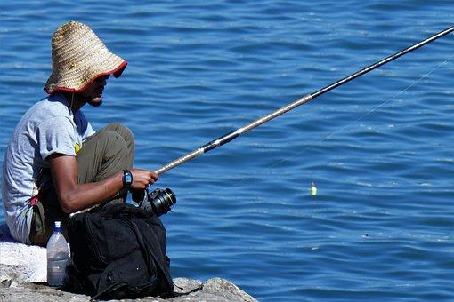 Angler, Fish, Angel, Catch Fish, Fishing Rod, Man