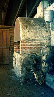 Oven, Stone Oven, Wood Burning Stove, Bake
