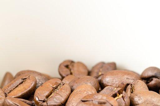Coffee, Brown, Caffeine, Seed, Background, Black