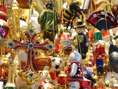 Christmas Decorations, Christbaumkugeln, Christmas