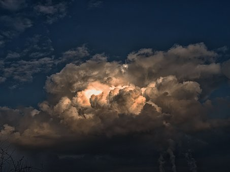 Storm, Cloudy Sky, Clouds