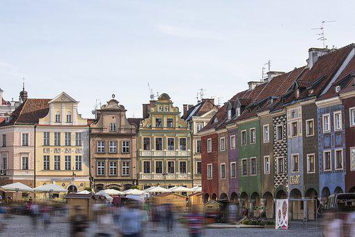 Poznan, Downtown, Historically, Architecture, Old Town