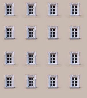 Window, Facade, Hauswand, Background, Architecture