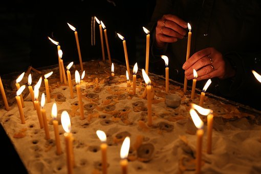 Candles, Church, Religion, Light, Flame, Fire, Symbol
