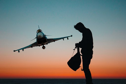 Flight, Sunset, Fly, Aircraft, Fighter Jet