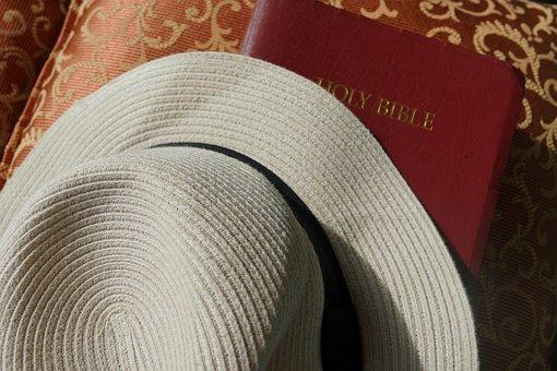 Bible, Sunday, Hat, Christian, Religion, Faith