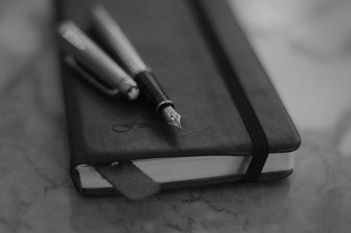 Fountain Pen, Notebook, Classic, Meisterstuck