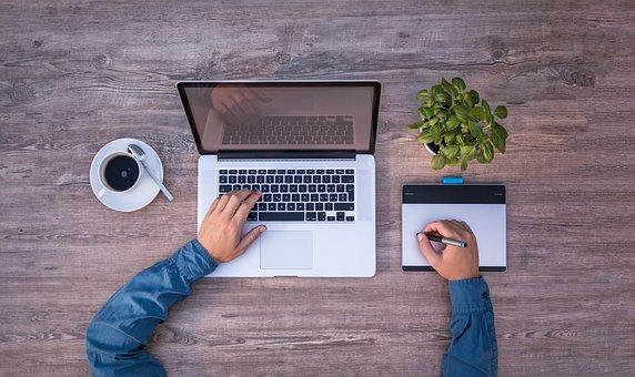Laptop, Mockup, Graphics Tablet, Tablet, Graphic Design