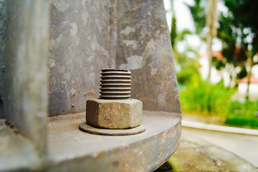 Architecture, Nut, Metal, Engineering, Bolt
