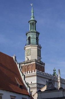 Poznan, Tower, Architecture, Building, Town Hall