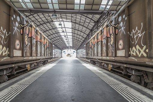 Railway Station, Lucerne, Train