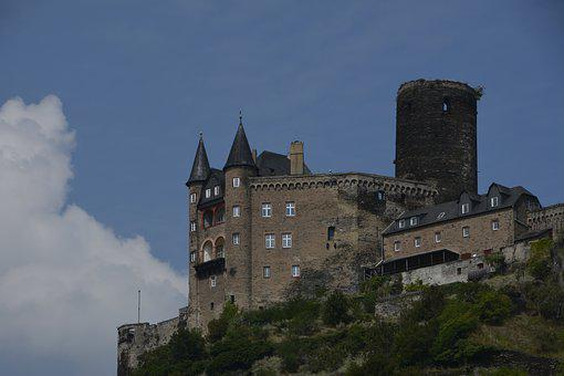 Castle, Rhine, Middle Ages, Germany, Current, Outlook