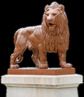 Lion, Monument, King Lion, Sculpture, Statue, Figure