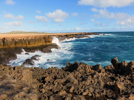 Australia, Coast, Nature, Sea, Water, Spray, Surf