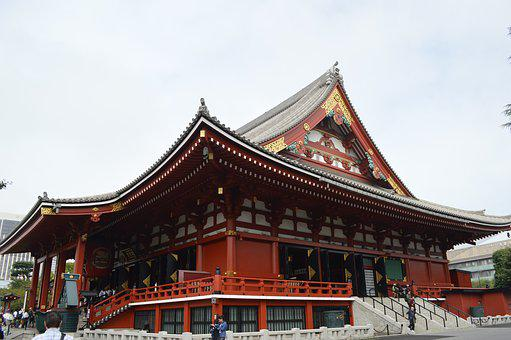 Temple, Japan, Dragon, Peace, Stone, Religion, Wood