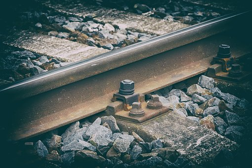 Track, Railway, Ties, Nostalgia, Station, Gravel