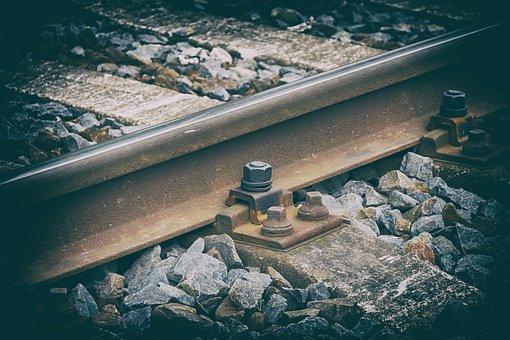 Track, Railway, Ties, Nostalgia, Station, Gravel