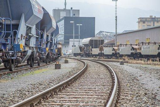 Railway Station, Trains, Train, Railway, Rail Traffic