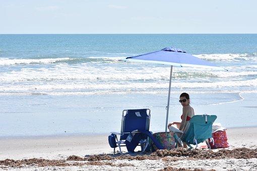 Beach, Sand, Shore, Summer, Vacation, Sea, Ocean, Water