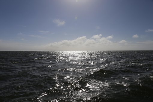 Sea, Ocean, Blue, Water, Nature, Coast, Sunny, Clear