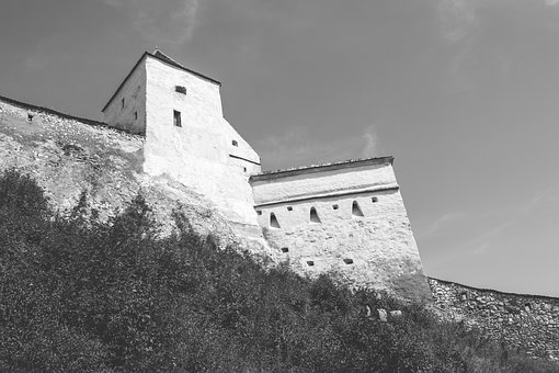 City, Architecture, Architect, Black And White, Brasov