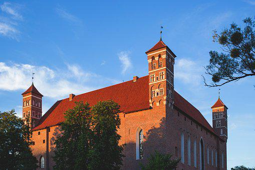 City, Architecture, Attraction, Bishop, Brick, Building
