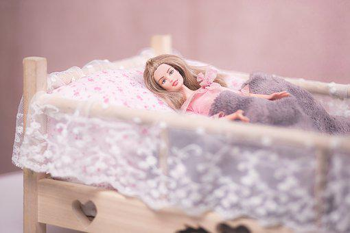 Barbie, Bed, Blond, Blonde, Child, Children, Doll