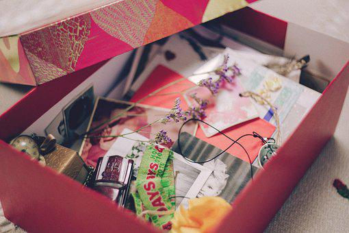 Aged, Background, Box, Card, Color, Family, Female