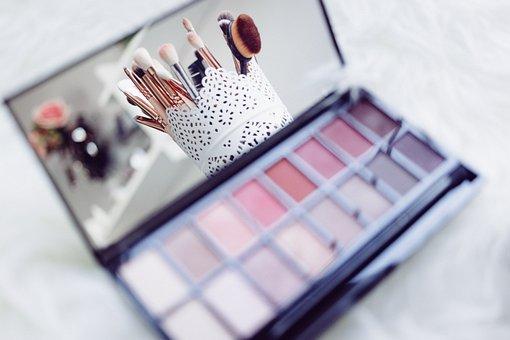 Fashion, Background, Beautiful, Beauty, Box, Brush