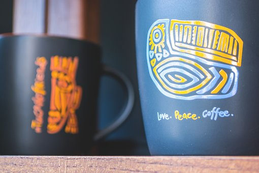 Food, Drinks, Alternative, Big, Black, Cafe, Coffee