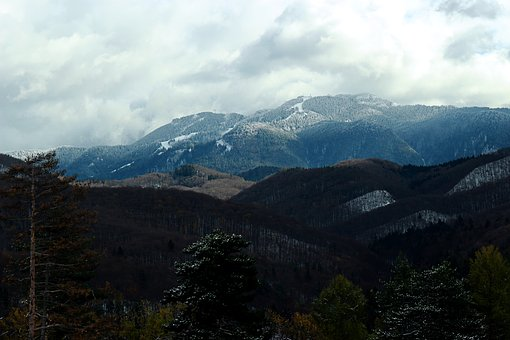 Mountain, Nature, Landscape, Forest, Cloud, Romania
