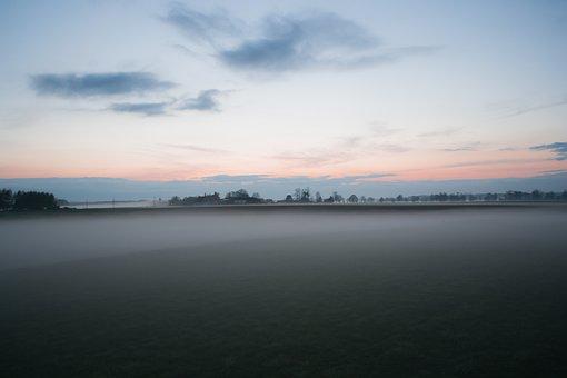 Nature, Blue, Clouds, Countryside, Dark, Dawn, Dense