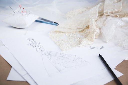 Fashion, Art, Back, Bouquet, Bridal, Bride, Cartoon