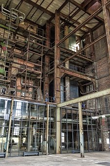 Lost Place, Industrial Plant, Leave, Ailing