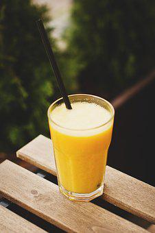Food, Drinks, Fresh, Fruit, Juice, Orange, Outside