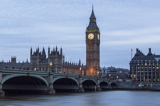 London, Big Ben, England, Westminster, United Kingdom