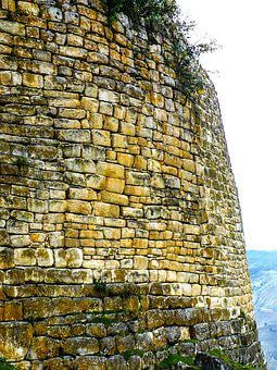 Ancient, Peru, Ruin, Chachapoyas, Peruvian, Rock