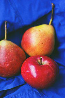 Nature, Apple, Autumn, Fruit, Fruits, Pears, Red