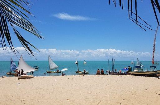 Sunset, Maceió, Pajuçara, Alagoas, Beach, Sol, Litoral