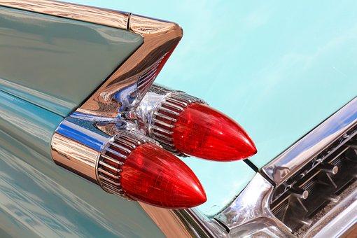Oldtimer, American Car, Detail, Retro, Close