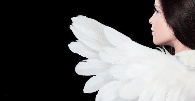 Angel, Woman, Wing, Female, Angel Figure, Angel Face