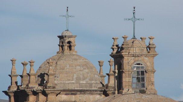 Ceiling, Church, Cruz
